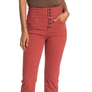 Joie Laurelle Cropped High Waisted Jeans